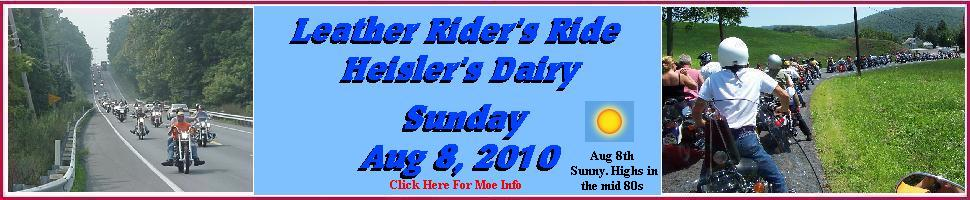 Leather Rider Rides